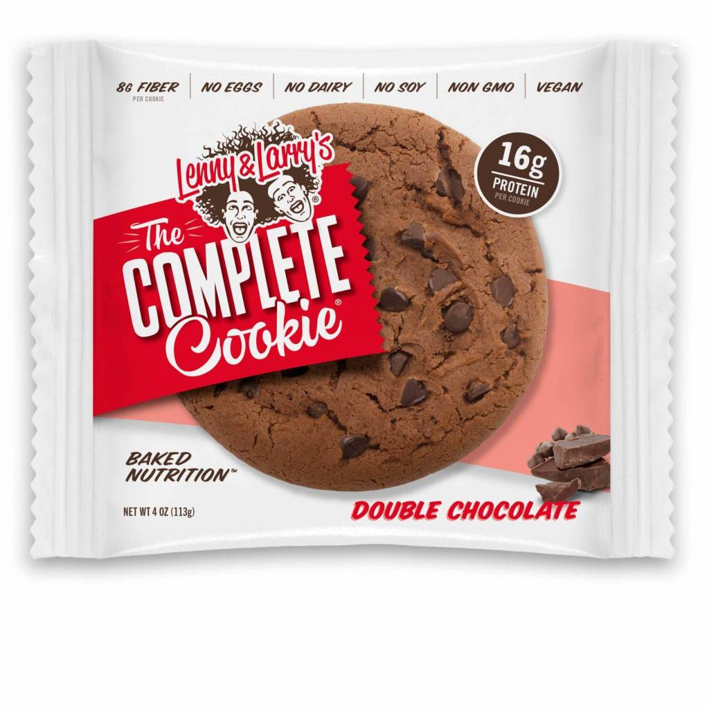 Lenny & Larry's Complete Cookie Double Chocolate 113g - Shipping From Just £2.99 Or FREE When You Spend £55 Or More