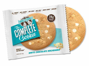 Lenny & Larry's Complete Cookie White Chocolate Macadamia 113g - Shipping From Just £2.99 Or FREE When You Spend £55 Or More