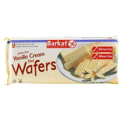 Barkat Vanilla Wafers - 100g - Shipping From Just £2.99 Or FREE When You Spend £60 Or More
