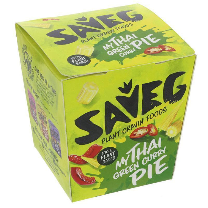 Saveg My Thai Green Curry Pie 230g USE BY 20/09/20