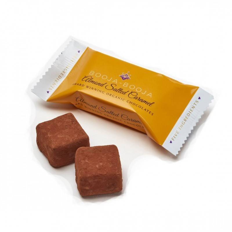 Booja Booja Almond Salted Caramel 2 Pack - Shipping From Just £2.99 Or FREE When You Spend £55 Or More
