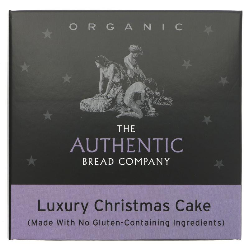 Authentic Bread Company Vegan Christmas Cake - 450g - Shipping From Just £2.99 Or FREE When You Spend £60 Or More