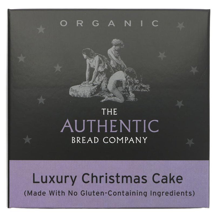 Authentic Bread Company Vegan Christmas Cake - 450g