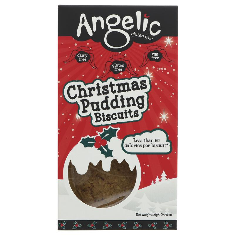 Angelic Gluten Free Christmas Pudding Biscuits 125g