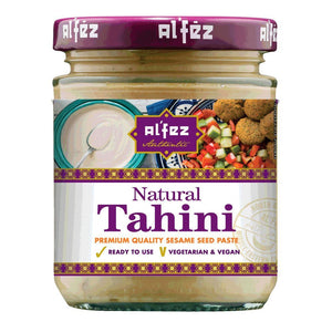 Al'Fez Natural Tahini - 160g - Shipping From Just £2.99 Or FREE When You Spend £60 Or More