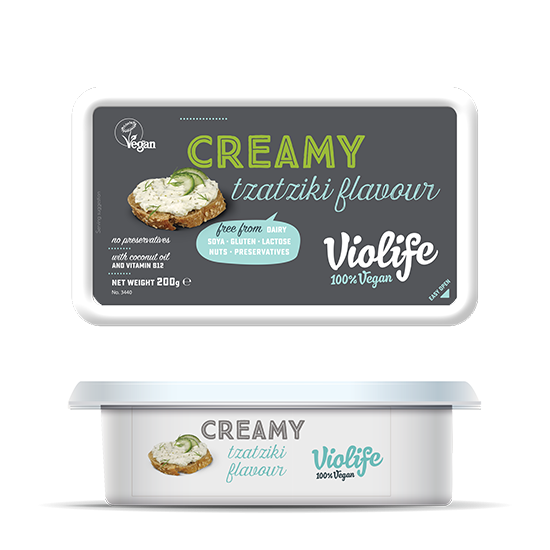 Violife Creamy Tzatziki 200g - Shipping From Just £2.99 Or FREE When You Spend £60 Or More