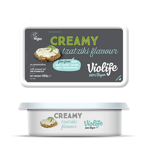 Violife Creamy Tzatziki 200g - Shipping From Just £2.99 Or FREE When You Spend £55 Or More