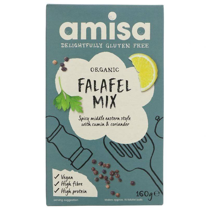 Amisa Falafel Mix - 160g - Shipping From Just £2.99 Or FREE When You Spend £60 Or More