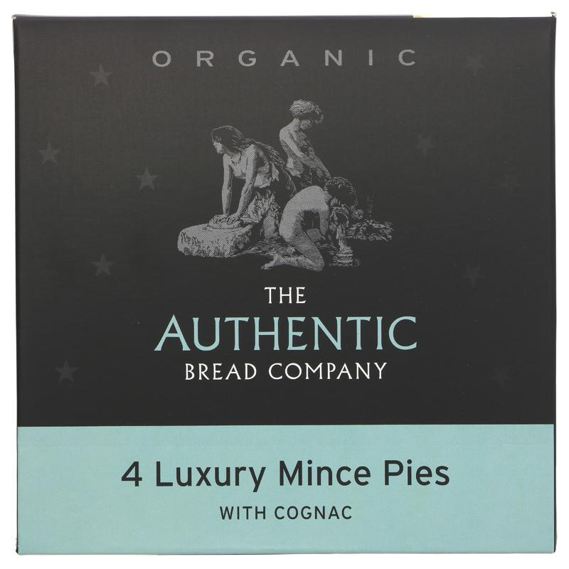 Authentic Bread Company Luxury Mince Pies - 200g