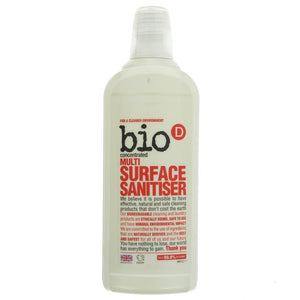 Bio D Multi Surface Sanitiser 750ml