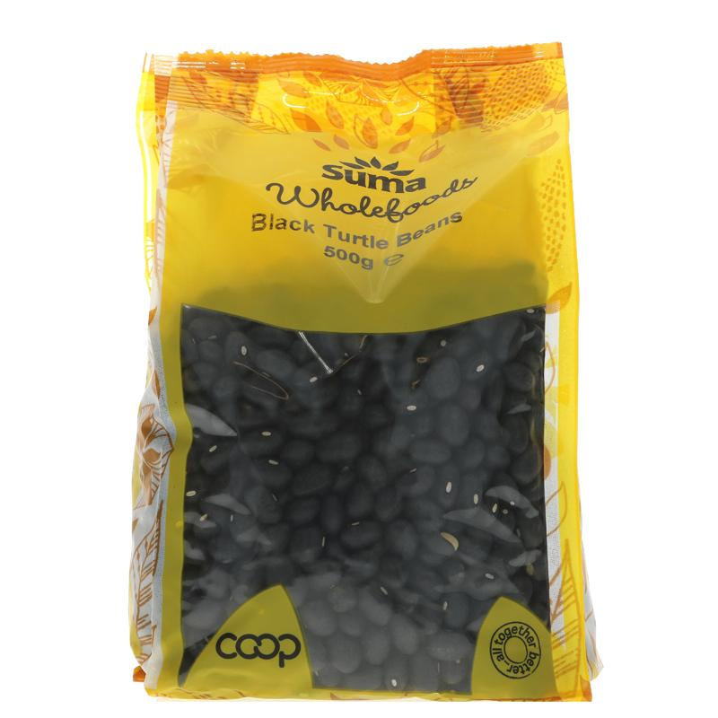 Black Turtle Beans - 500g - Shipping From Just £2.99 Or FREE When You Spend £60 Or More