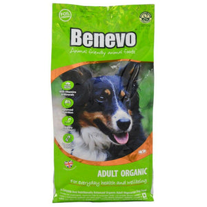 Benevo Organic Adult Dog Food - 2kg - Shipping From Just £2.99 Or FREE When You Spend £60 Or More