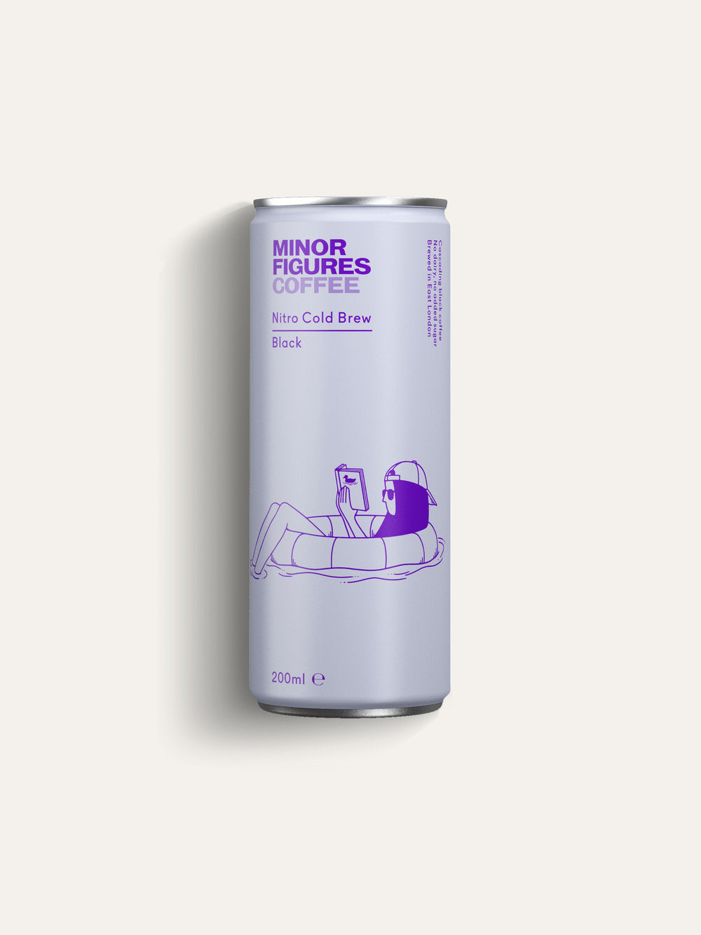 Minor Figures Nitro Cold Brew Black - 200ml - Shipping From Just £2.99 Or FREE When You Spend £55 Or More