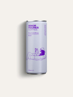 Minor Figures Nitro Cold Brew Black - 200ml