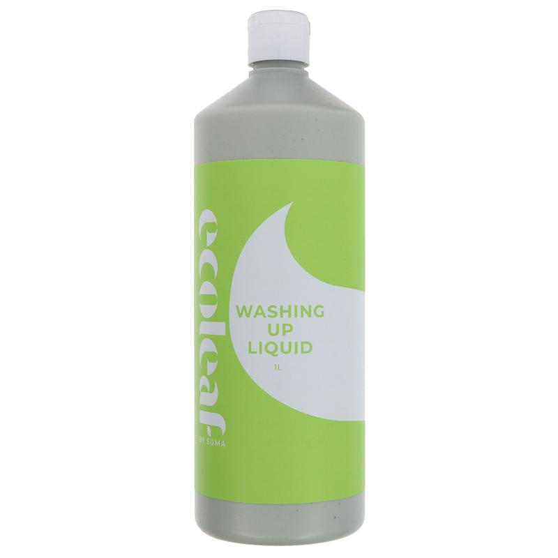 Ecoleaf Wash Up Liquid 1l - Shipping From Just £2.99 Or FREE When You Spend £60 Or More