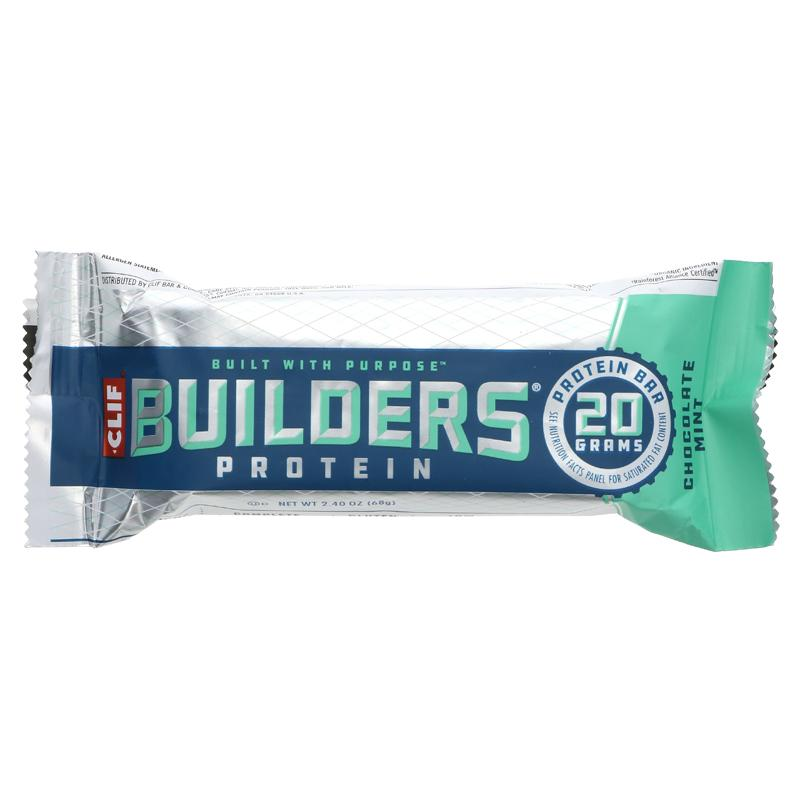 Clif Builders Chocolate Mint Bar 68g