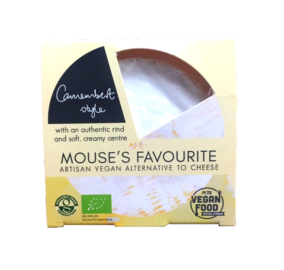 Mouse's Favourite Camembert 140g - Shipping From Just £2.99 Or FREE When You Spend £60 Or More