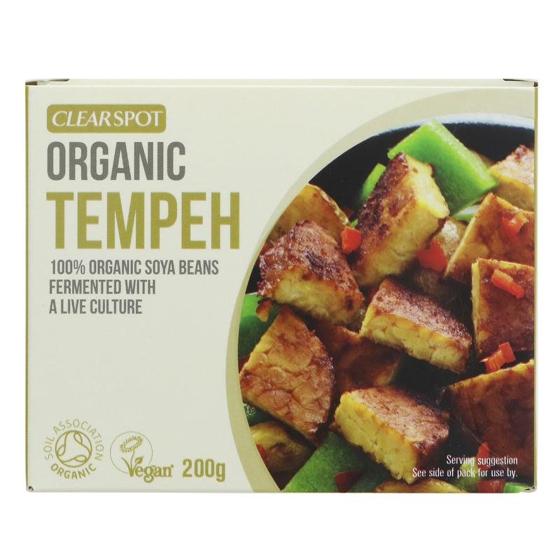Clear Spot Tempeh - 200g - Shipping From Just £2.99 Or FREE When You Spend £60 Or More
