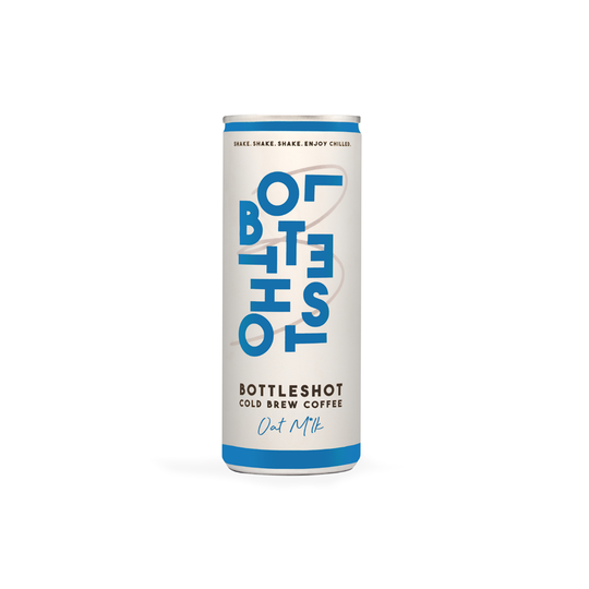 BottleShot Cold Brew Coffee with Oat Milk 250ml