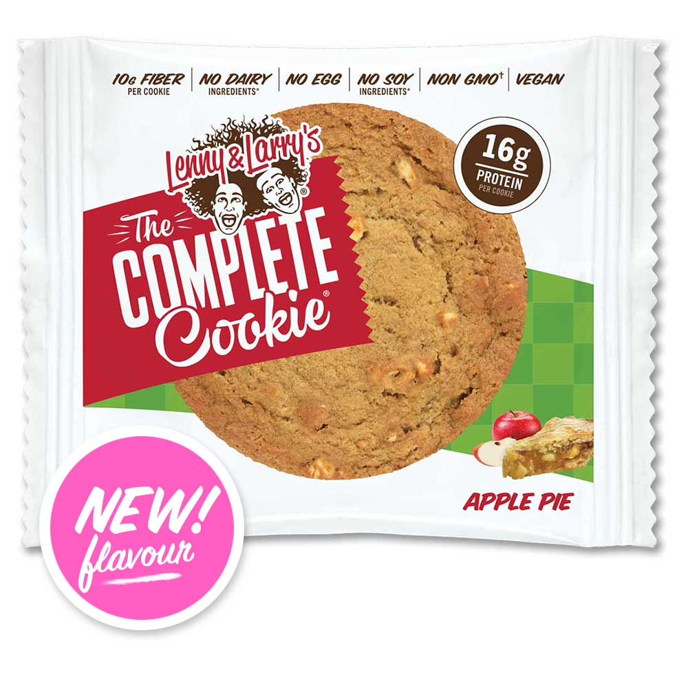 Lenny & Larry's Complete Cookie Apple Pie 113g - Shipping From Just £2.99 Or FREE When You Spend £60 Or More