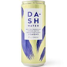 Dash Sparking Water - Lemon 330ml - Shipping From Just £2.99 Or FREE When You Spend £55 Or More