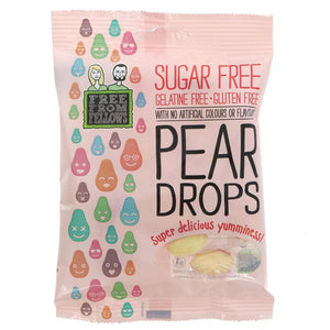 Free From Fellows Pear Drop 70g - Shipping From Just £2.99 Or FREE When You Spend £55 Or More