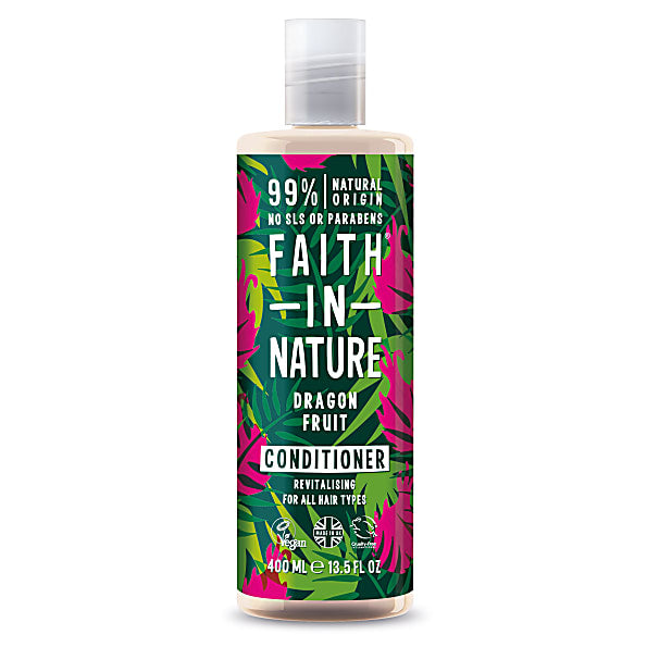 Faith in Nature Dragon Fruit Conditioner 400ml - Shipping From Just £2.99 Or FREE When You Spend £55 Or More