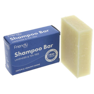 Friendly Soap Natural Shampoo Bar 95g - Shipping From Just £2.99 Or FREE When You Spend £55 Or More