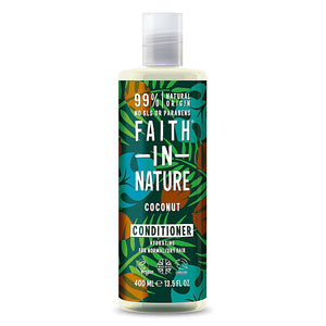 Faith in Nature Coconut Conditioner 400ml - Shipping From Just £2.99 Or FREE When You Spend £55 Or More