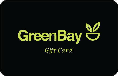 GreenBay Gift Card Black & Green