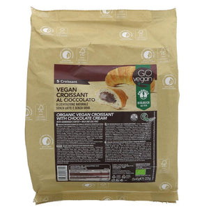 Go Vegan Cocoa Croissant 5x35g - Shipping From Just £2.99 Or FREE When You Spend £55 Or More