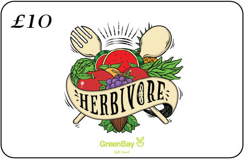 GreenBay Gift Card Herbivore - Shipping From Just £2.99 Or FREE When You Spend £55 Or More