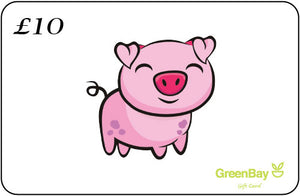 GreenBay Gift Card Piggy - Shipping From Just £2.99 Or FREE When You Spend £60 Or More