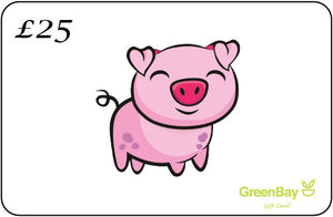 GreenBay Gift Card Piggy - Shipping From Just £2.99 Or FREE When You Spend £55 Or More
