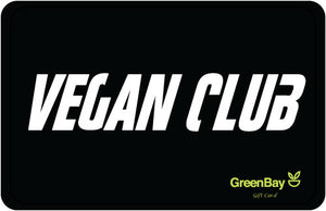 GreenBay Gift Card Vegan Club - Shipping From Just £2.99 Or FREE When You Spend £60 Or More
