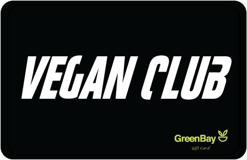 GreenBay Gift Card Vegan Club