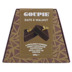Goupie Date and Walnut 180g - Shipping From Just £2.99 Or FREE When You Spend £55 Or More