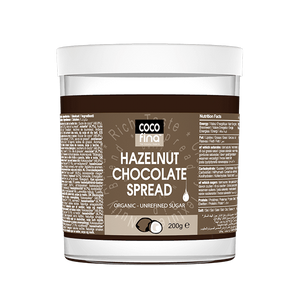 Cocofina Organic Hazelnut Chocolate Spread 200g - Shipping From Just £2.99 Or FREE When You Spend £55 Or More