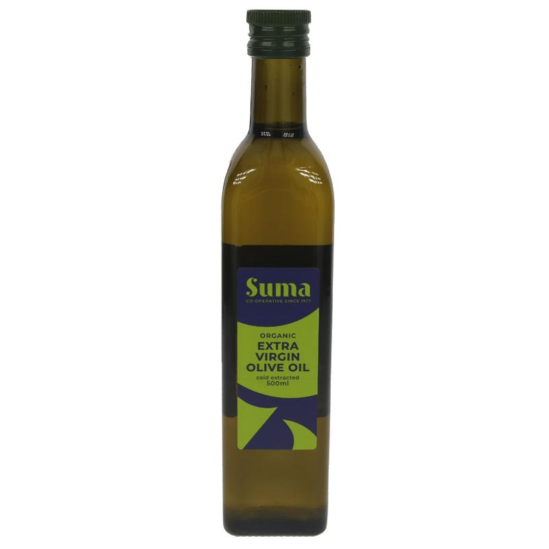 Olive Oil Extra Virgin Organic 500ml - Shipping From Just £2.99 Or FREE When You Spend £55 Or More