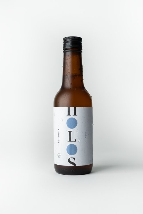 HOLOS Kombucha Classic 250ml - Shipping From Just £2.99 Or FREE When You Spend £60 Or More