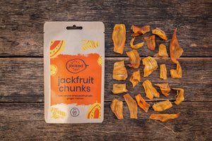 Jacked Jackfruit Chunks Ginger & Lemon 30g - Shipping From Just £2.99 Or FREE When You Spend £60 Or More