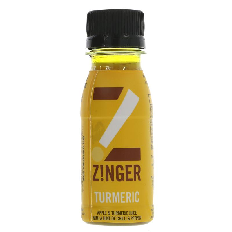 James White Turmeric Zinger Shot  70ml - Shipping From Just £2.99 Or FREE When You Spend £60 Or More