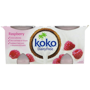 Koko Raspberry Yoghurt  2 x 125g - Shipping From Just £2.99 Or FREE When You Spend £60 Or More