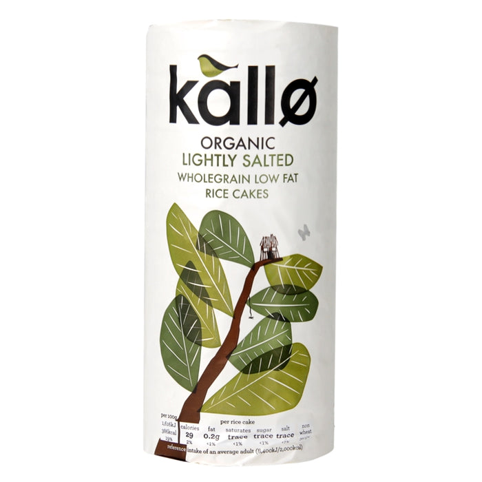 Kallo ORG Rice Cakes with sea salt 130g