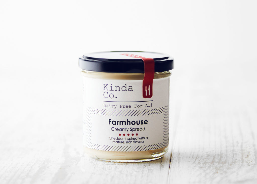 Kinda Co Farmhouse Spread 150g - Shipping From Just £2.99 Or FREE When You Spend £60 Or More