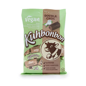 Kuhbonbon Vegan Double Chocolate Caramels 165g