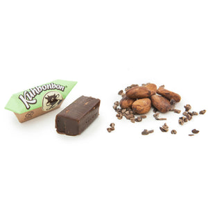Kuhbonbon Vegan Double Chocolate Caramels 165g BB 18 Sept - Shipping From Just £2.99 Or FREE When You Spend £60 Or More