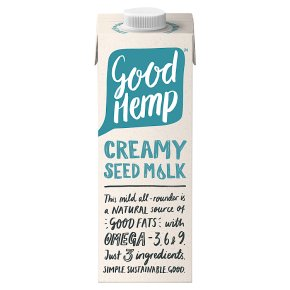 Good Hemp Creamy Seed Mylk 1l - Shipping From Just £2.99 Or FREE When You Spend £60 Or More