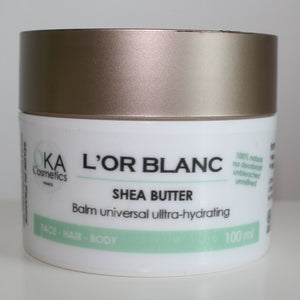 OKA Cosmetics L'or Blanc - Shea Butter 100ml