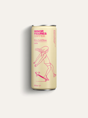 Minor Figures Nitro Cold Brew Latte - 200ml - Shipping From Just £2.99 Or FREE When You Spend £55 Or More